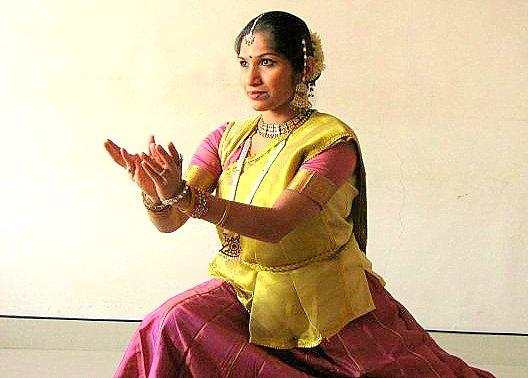 Dancer Sampada Pillai. Photograph: Manoj Pillai